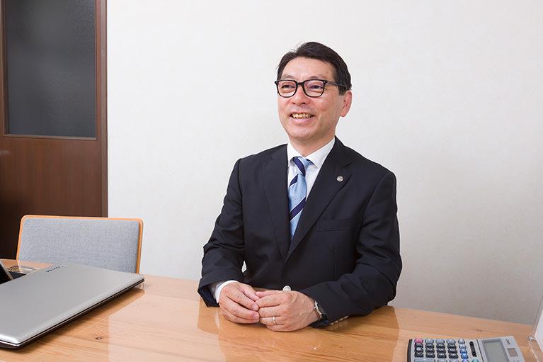 代表税理士 久川秀則(ひさかわひでのり)